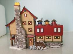 Dept 56 North Pole LEGO Building Creation Station #56.56735 Retired 2003 NIB