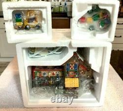 Dept 56 North Pole LEGO Building Creation Station, Little Builders & Brick Lift