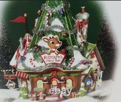 Dept 56 North Pole Rudolph's Misfit Headquarters Building Christmas Village