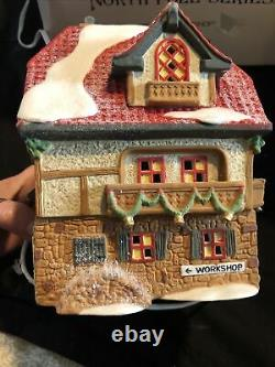 Dept 56 North Pole Santa's Workshop 5600-6 Christmas Village Building 1990