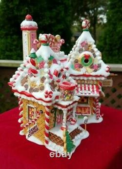Dept. 56 North Pole Series Christmas Sweet Shop 30th Anniversary Holiday Village
