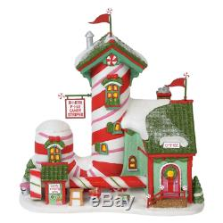 Dept 56 North Pole Series Holiday Time Christmas Snow Village Houses Candy NEW