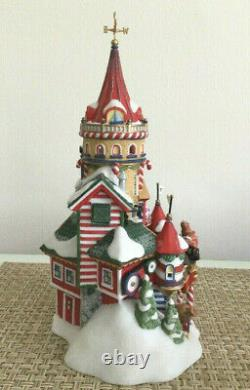 Dept 56 North Pole Series SANTA'S TOY COMPANY 15 Years Special Edition 2009 RARE