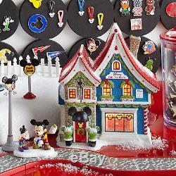 Dept 56 North Pole Snow Village Series Mickeys Pin Traders 4044837 NIB NEW House