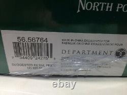 Dept 56 North Pole VILLAGE ANIMATED POLAR ROLLER RINK 56.56764 New & Sealed