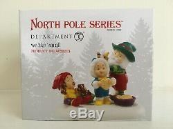 Dept. 56 North Pole Village 11 Piece Assortment 8 Buildings, 3 Accessories