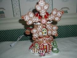Dept. 56- North Pole Village- 2021-gingerbread Cookie Mill-nib