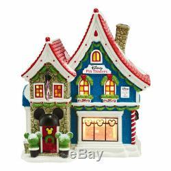 Dept 56 North Pole Village 4044837 Disney Mickeys Pin Traders