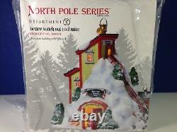 Dept 56 North Pole Village BETTER WATCH OUT COAL MINE 808923 Brand New! RARE