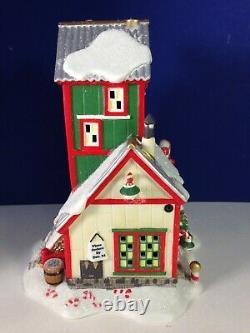 Dept 56 North Pole Village CANDY CANE CORNER 56.56952. New! No Sleeve