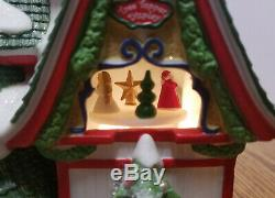 Dept 56 North Pole Village CHRISTMASLAND TREE TOPPERS In Box #56960 motorized