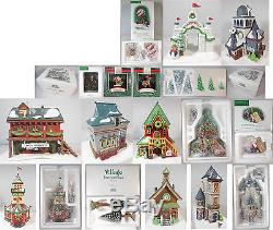 Dept 56 North Pole Village Collection #2, Qty. 16 Items 7 Buildings & 9 Acces