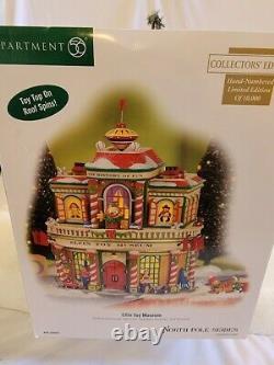 Dept 56 North Pole Village Elfin Toy Museum Collector's Edition