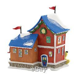 Dept 56 North Pole Village Fisher Price Pull Toy Factory 4050962 NIB