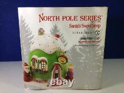 Dept 56 North Pole Village GUMDROP SHOP 4020950 Brand New! RARE
