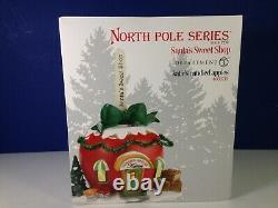 Dept 56 North Pole Village KATIE'S CANDIED APPLES 4030715 Brand New