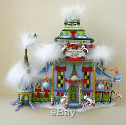 Dept. 56 North Pole Village Krinkles Patience Brewster Christmas Lit House, New