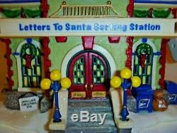 Dept 56 North Pole Village Letters to Santa Sorting Station building