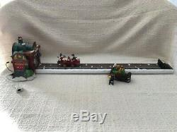 Dept. 56 North Pole Village Loading the Sleigh 56732