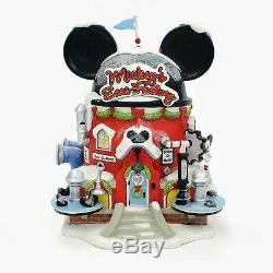 Dept 56 North Pole Village MICKEY'S EARS FACTORY 4020206 Department 56 Mickeys