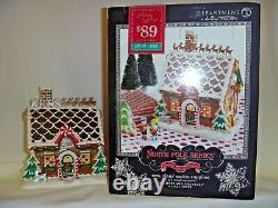 Dept 56 North Pole Village Mrs. Claus' Cookie Supplies building