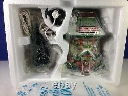 Dept 56 North Pole Village NAUGHTY OR NICE DETECTIVE AGENCY Set 56.56758 New