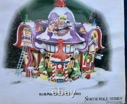 Dept 56 North Pole Village NORTH POLE BOARD GAMES FACTORY