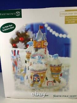 Dept 56 North Pole Village POLAR BEAR PALACE 799918 Brand New