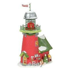 Dept 56 North Pole Village RUDOLPH'S BLINKING BEACON 6005433 Department 56 2020