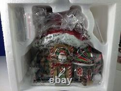 Dept 56 North Pole Village SANTA'S HAT INN 56.56795 Brand New