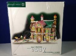 Dept 56 North Pole Village SUGAR HILL ROW HOUSES 56.56961 Brand New