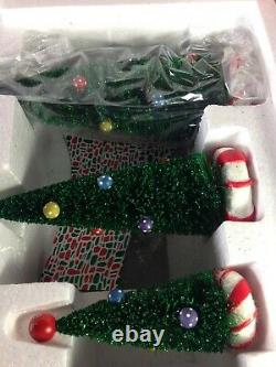 Dept 56 North Pole Village SWEET ROCK CANDY CO. Gift Set 56.56725 Brand New
