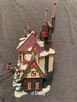 Dept 56 North Pole Village Santas Castle Rudolph special edition