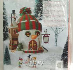 Dept 56 North Pole Village Series Building Christmas Cheer Brand New