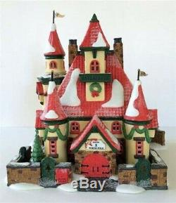 Dept 56 North Pole Village Series Route 1, North Pole Home of Mr. & Mrs. Claus