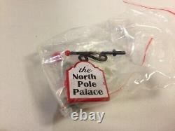 Dept 56 North Pole Village THE NORTH POLE PALACE 805541 Brand New! RARE
