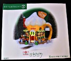 Dept 56 North Pole Village The Egg Nog Pub 56.56737 -100% PURE MINT