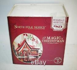 Dept 56 North Pole Village The Magic Of Christmas (Elf Bunkhouse) MIB