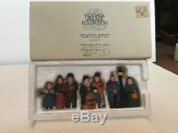 Dept 56 North Pole & heritage village accessories- Lot of 11 FREE SHIPPING
