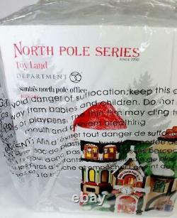 Dept 56 SANTA'S NORTH POLE OFFICE #4036540 NRFB Village check & double check