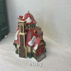 Dept 56 Santa Sleigh Maker Sled Factory North Pole Christmas Village Read Detail
