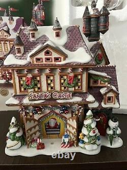 Dept 56 Santa's Castle, North Pole Series #56768 w Light