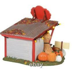 Dept 56 Snow Village 2020 PATTY'S PUMPKIN PATCH 4pc set #6005479 NRFB Halloween