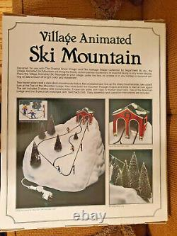 Dept 56 Snow Village Animated Ski Mountain #52733 New not opened or out of box