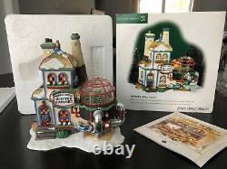 Dept 56 Twinkle Brite Glitter Factory, North Pole Series #56738 House w Light
