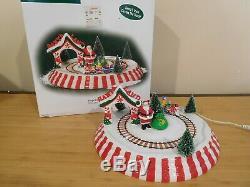 Dept 56 Village Accessory Animated Santa Land Train Ride MIB