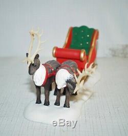 Dept 56 Village Accessory The Magic Of Christmas Santa's Magic Sleigh MIB
