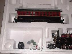 Dept 56 village xmas train express electric set 52710 locomotive Free Shipping
