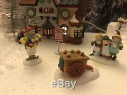 Dept56 North Pole Collection Christmas village display platform All Included