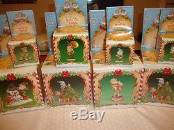 Enesco Christmas Ornament The North Pole Village Twinkies & Tootsie LARGE Rare